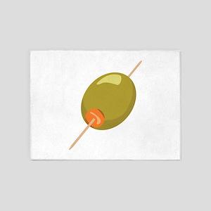 Stuffed Olive 5'x7'Area Rug