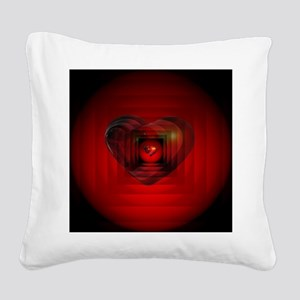 Heart 027 Square Canvas Pillow