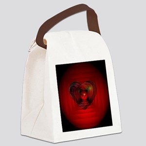 Heart 027 Canvas Lunch Bag