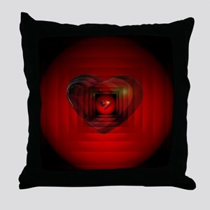 Heart 027 Throw Pillow