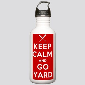Keep Calm Go Yard Stainless Water Bottle 1.0L