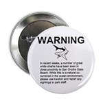 San Onofre Great White Shark Button (10 pk)