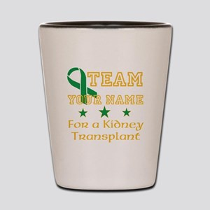 Personalize team Kidney Shot Glass