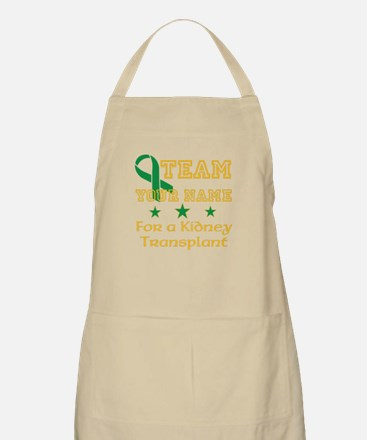 Personalize team Kidney Apron