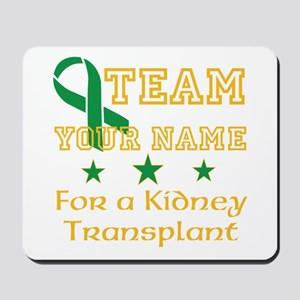 Personalize team Kidney Mousepad