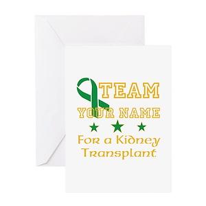 Kidney transplant greeting cards cafepress m4hsunfo