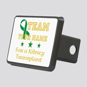 Personalize team Kidney Rectangular Hitch Cover