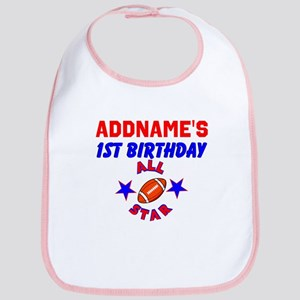 1 YR OLD FOOTBALL Bib