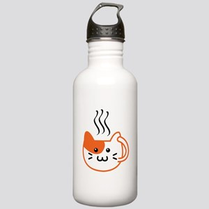 Calico Catpuccino Water Bottle