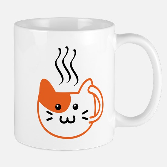 Calico Catpuccino Mugs