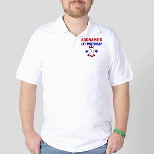 1 YR OLD BASEBALL Golf Shirt