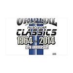 50 Anniversary Decal Wall Sticker