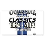 50 Anniversary Sticker