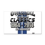 50 Anniversary Rectangle Car Magnet
