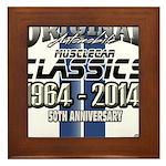 50 Anniversary Framed Tile