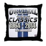 50 Anniversary Throw Pillow