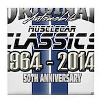 50 Anniversary Tile Coaster