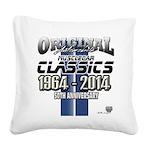 50 Anniversary Square Canvas Pillow
