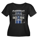50 Anniversary Plus Size T-Shirt