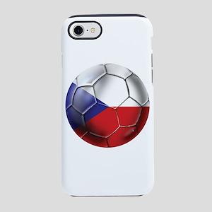 Czech Republic Soccer Ball iPhone 7 Tough Case