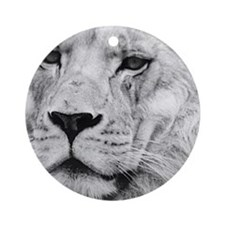 Lion 10 Ornament (Round)