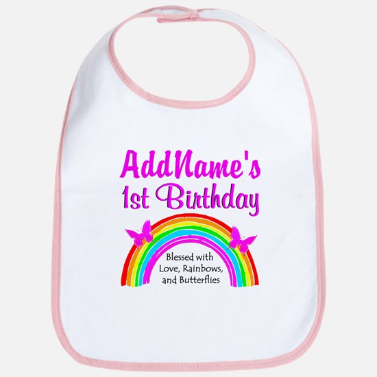 BLESSED 1 YR OLD Bib
