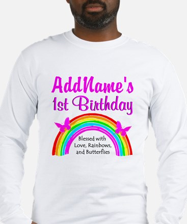 BLESSED 1 YR OLD Long Sleeve T-Shirt