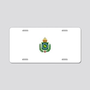 Brazilian Empire of Brazil Aluminum License Plate