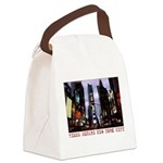 New York Souvenir Times Square Gifts Canvas Lunch
