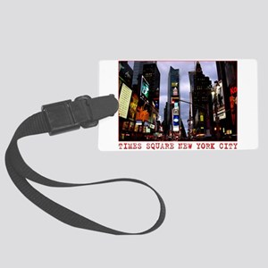 New York Souvenir Times Square Gifts Large Luggage