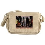 New York Souvenir Times Square Gifts Messenger Bag