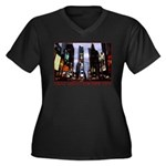New York Souvenir Times Square Gifts Plus Size T-S