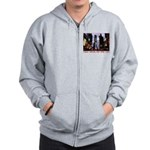 New York Souvenir Times Square Gifts Zipped Hoody