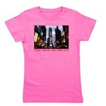 New York Souvenir Times Square Gifts Girl's Tee