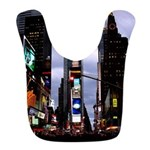 New York Souvenir Cityscape Bib