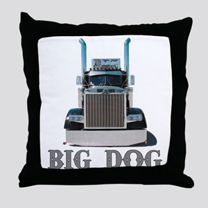 Big Dog Throw Pillow
