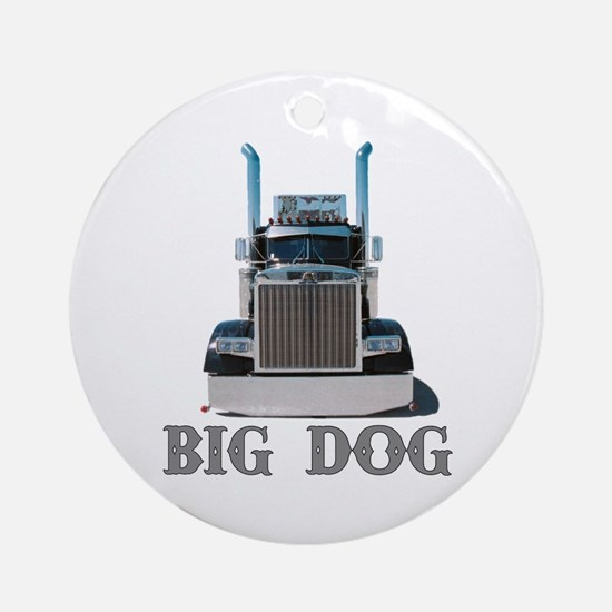 Big Dog Ornament (Round)