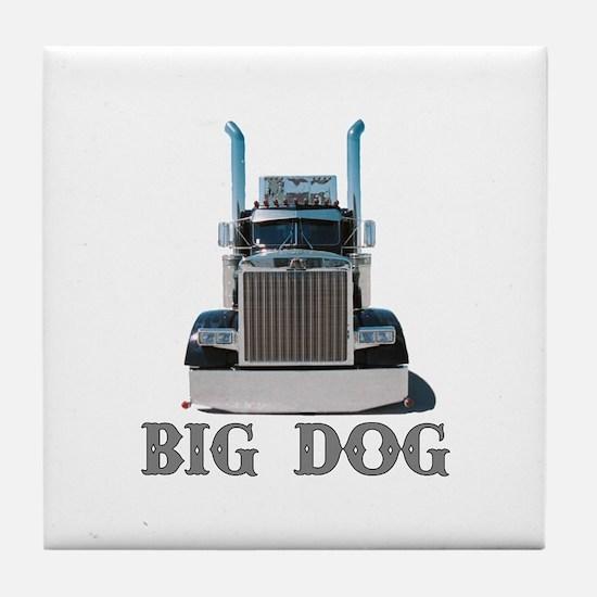 Big Dog Tile Coaster