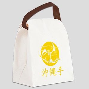 Okinawa-Te Canvas Lunch Bag