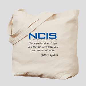 Gibbs Anticipation Quote Tote Bag