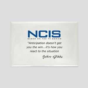 Gibbs Anticipation Quote Rectangle Magnet