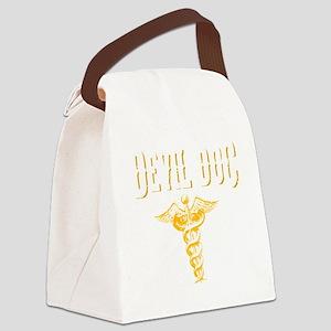 Devil Doc Canvas Lunch Bag