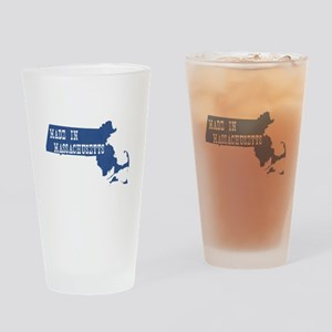 Massachusetts Drinking Glass