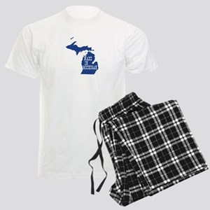 Michigan Men's Light Pajamas