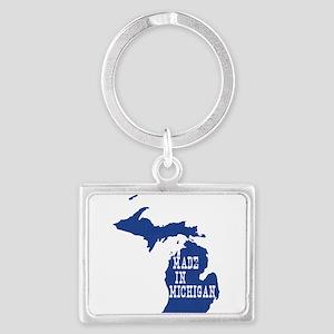 Michigan Landscape Keychain