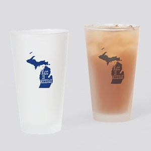 Michigan Drinking Glass