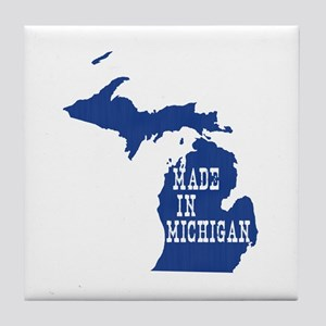 Michigan Tile Coaster