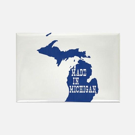 Michigan Rectangle Magnet