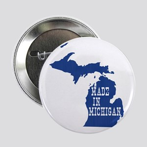 "Michigan 2.25"" Button"