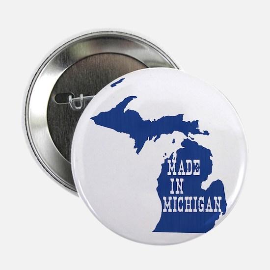 """Michigan 2.25"""" Button"""